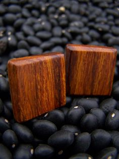Desert Ironwood Cuff links by holcombswoodworking on Etsy