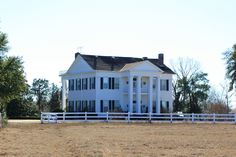 Lewis McMillan Plantation House on the Alabama River near Orrville Built in 1858