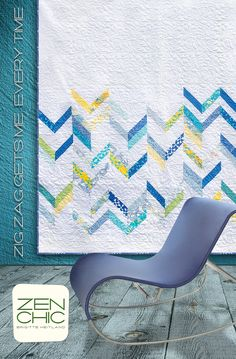 ZigZag gets me ever time #zenchic modern #quiltpattern now available as an instant PDF-Download here https://zenchic.dpdcart.com/cart/add?product_id=72396&method_id=74972