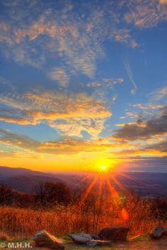 ~~Sunset at Skyline Drive ~ Shenandoah National Park, Blue Ridge Mountains, Virginia by m_hamad~~