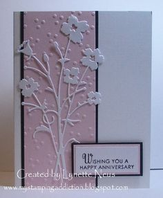 My Stamping Addiction: Pink Anniversary - Idea only!