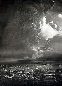 kagoshima, japan, 1914- sakurajima