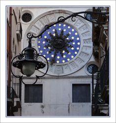 Famous clock of Venice