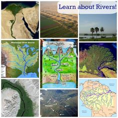 Fabulous geography lesson and resources to learn about rivers!