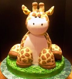 #Animal #Cake #Giraffe #Want so this should be my 17th birthday cake.