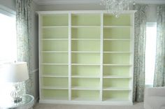 "Not So Newlywed McGees: ""Built-in"" Bookshelves"