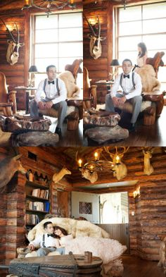 This whole shoot/concept for design was amazing.  Loved the whole dang thing.  1930's taxidermy/western.