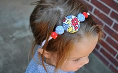Tutorial – Covered Button Headband | The Mother Huddle