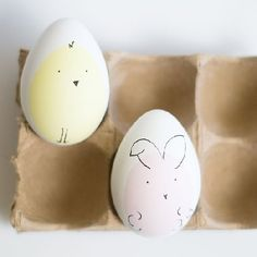 Make these cute little easter egg bunnies and friends for your Easter this year!