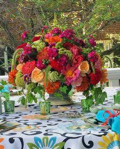 Summer flowers for #summersupper