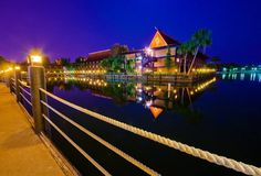 the Polynesian Resort