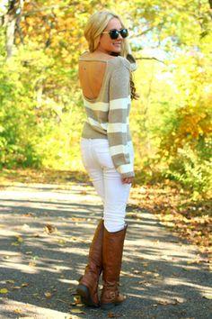 Hazel Cream Sweater
