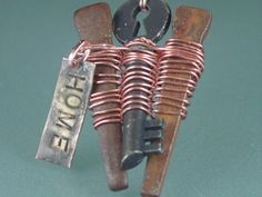 Recycled Treasures - Love Lea Jewelry.... designed by Dana Lea