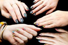 Christopher Kane Runway Inspired Nails 10 by ebmonson, via Flickr