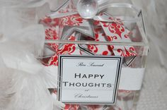Inspiration: advent calendar of happy thoughts