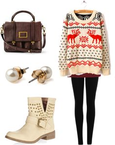 """""""Winter finals outfit"""" by megan-vanduyne ❤ liked on Polyvore Clothes Outift for • teens • movies • girls • women •. summer • fall • spring • winter • outfit ideas • dates • parties Polyvore :) Catalina Christiano"""