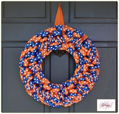 Florida GATORS Wreath, Etsy.