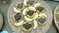 Oreo biscuits with monkey face