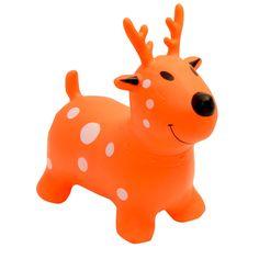 Happy Hopperz baby bouncer Orange Deer | Wauwaa