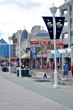 Boardwalk-Ocean City Maryland.