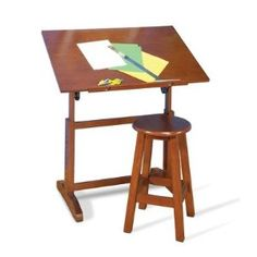 #10: Studio Designs STUDIO RTA Creative Table and Stool Set table  stool. rta creativ, draft tabl, studio design, stool set, set tabl, creativ tabl, desk, design studios, stools