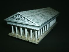 templo griego free paper, homeschool social, build paper, papers, homeschool idea, amaz paper, templ, blog, paper models