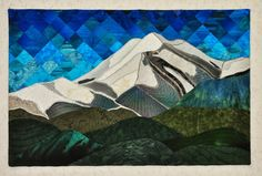 Sierra Blanca: Last quilt of the summer by Shannon Conley
