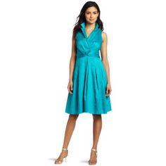 AK Anne Klein Women`s Doris Twist Front Dress $129.00