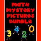 MATH MYSTERY PICTURES BUNDLE PACK Depending on the picture students solve a page or two of math problems and then color in the numbers on a hundred...