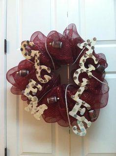 Texas Aggies Wreath