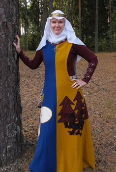 Fabulous Heraldic Surcote