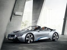 "DR M has an Eye on his Next Batmobile now....""BMW I8 Spyder""...."