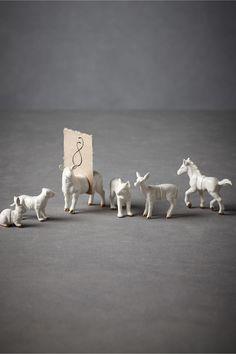 Animalia Placeholders from bhldn.com