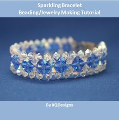 Lots of Free Jewelry Making Tutorials & Lessons: FREE 2-Needle RAW beading pattern