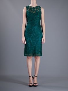 DOLCE & GABBANA  FITTED SLEEVELESS LACE DRESS unfortunately not available...