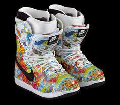 Nike DK Zoom Snowboarding boots <3