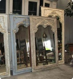 doors turned into mirrors