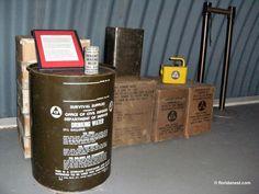 bomb shelter, peanut island, atom bomb