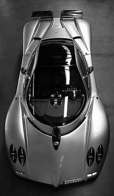Black & White Pagani Zonda