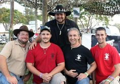 TRE, ANDY, JIMMY,RICHARD,AND SCOTT FROM ANIMAL PLANET'S GATOR BOYS