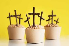 Easter Cross Cupcakes Tutorial