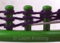 Basic loom knitting stitches ALSO, check this google site for LOTS of loom knit info: https://sites.google.com/site/loomknittingcentral/