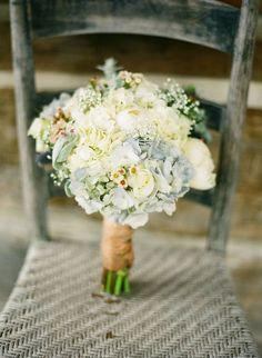 Hydrangea, Peony Bouquet