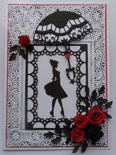 Baukje's Cards and Crafts: She's got Style baukj card, card making2, cart, scrapbook, mariann design, card 007, cards, card 10, crafts