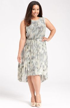 Romantic plus size dress. 3X women fashion, style, plussiz cloth, fashion killa, size fashion, plus size dresses, ikat dress