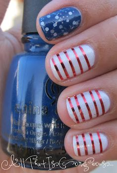 Make Your Nails Cheer for Team USA