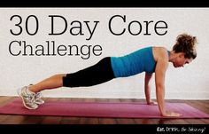 April Challenge-The 30 Day Core Challenge. Who's in?