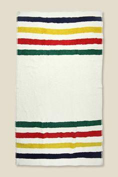 Hudson's Bay Company beach towel