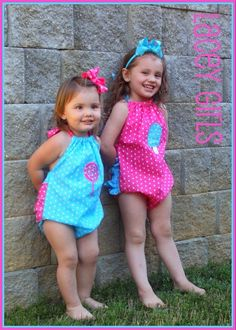 Baby Bubble Sewing Pattern for girls .