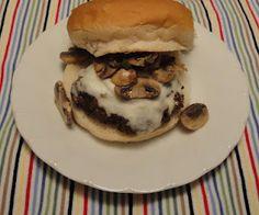 Christine's Pantry: Mushroom Swiss Burgers
